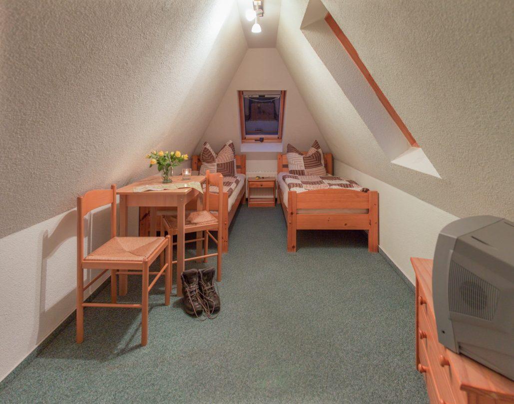 Schrammsteinbaude Dachgeschoss Appartment