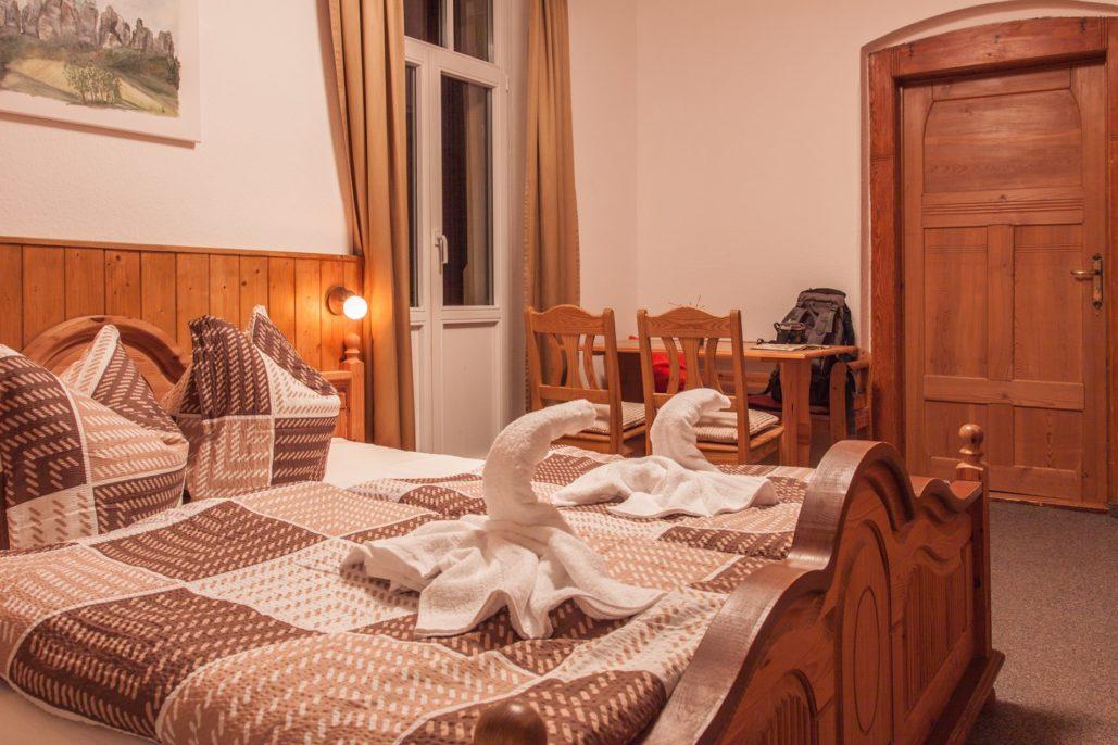 Schrammsteinbaude Familienzimmer